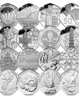 U.K 50p Coins