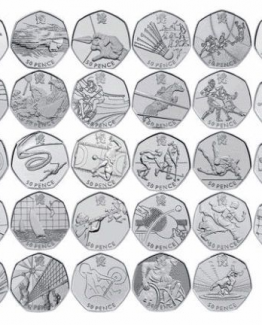 Olympic 50p Coins