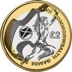 2002 COMMON WEALTH GAMES SCOTLAND £2 Image