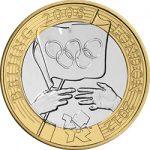 2008 Olympic Handover Ceremony £2 Image