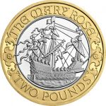 2011 Mary Rose £2 Image