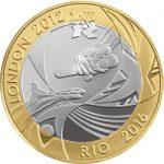 2012 Handover to Rio £2 Image