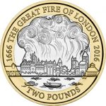 2016 Great Fire of London £2 Image