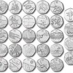 Olympic 50p Coin Set Image