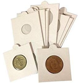 Self Adhesive Coin Holders