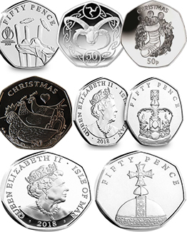 Other Isle Of Man 50ps