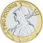 2016 Britannia £2 Image