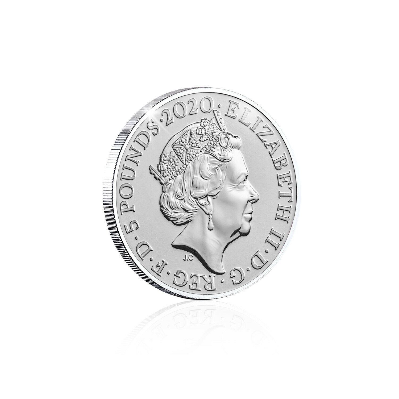 James Bond 007 Coin Royal Mint Bu 163 5 Official Five Pound Ukcoinhunt