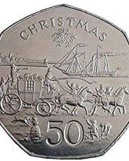 1980 christmas 50p